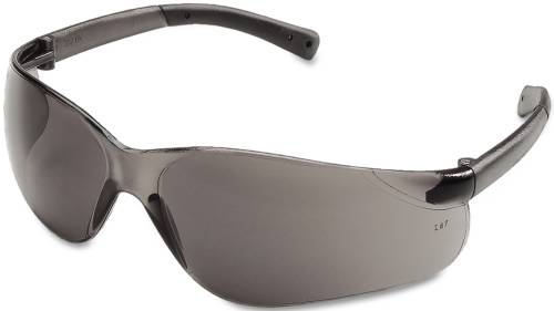 BEARKAT SAFETY GLASSES, WRAPAROUND, GRAY LENS