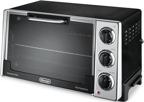 DELONGHI CONVECTION OVEN W/ROTISSERIE, 12.5-LITER, 0.5 CU. FT.,