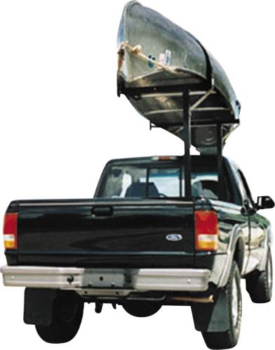 TRUCK RACK, STEEL MOONLIGHTER REMOVABLE, BLACK