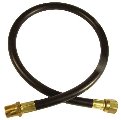 LP GAS HOSE 3/8 IN. MIP X 3/8 IN. FLARE X 24 IN.