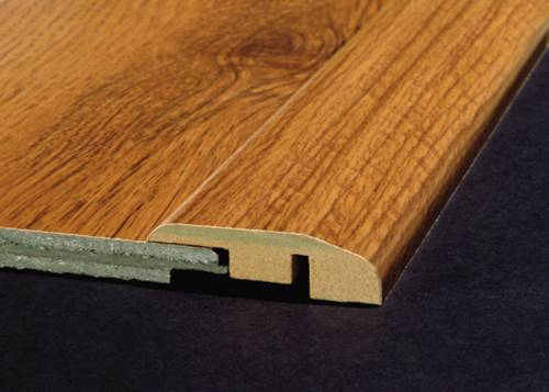 REDUCER MOULDING WITH TRACK RUSTIC OAK