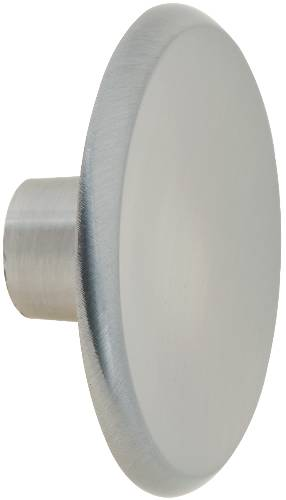 "BIFOLD KNOB 1-3/4"" SATIN NICKEL"