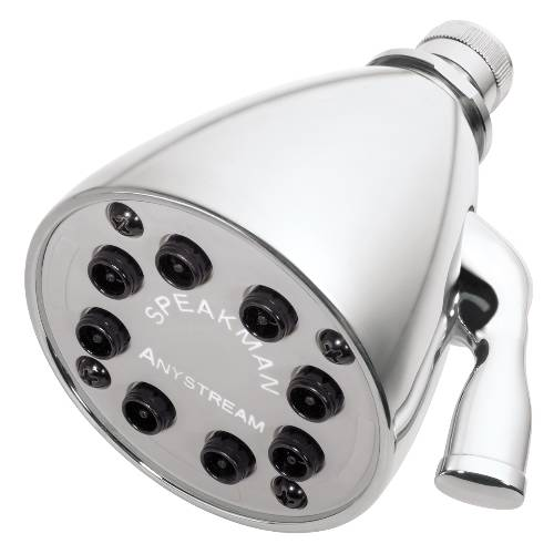 8 - JET ANYSTREAM® SHOWER HEAD FEATURES