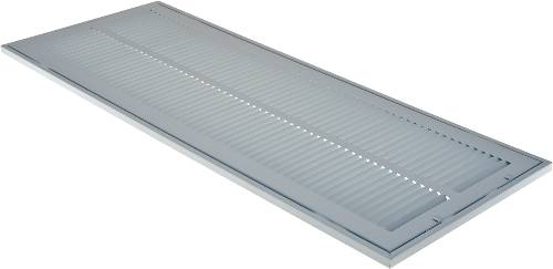 "SIDE RETURN FILTER AIR GRILLE 10"" X 30"" WHITE"