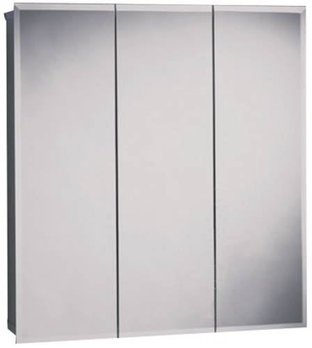 ZENITH 30 IN. BEVELED TRIVIEW MEDICINE CABINET