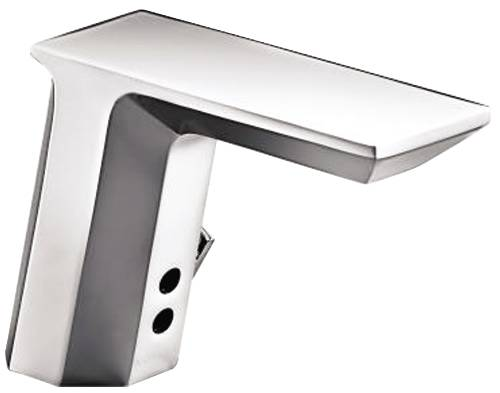 KOHLER INSIGHT™ GEOMETRIC TOUCHLESS AC POWERED DECK MOUNT FAUCET