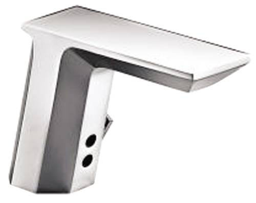 KOHLER HYBRID GEOMETRIC TOUCHLESS DECK MOUNT FAUCET WITH MIXER,
