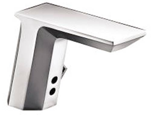KOHLER INSIGHT™ TOUCHLESS GEOMETRIC ELECTRONIC DECK MOUNT FAUCET