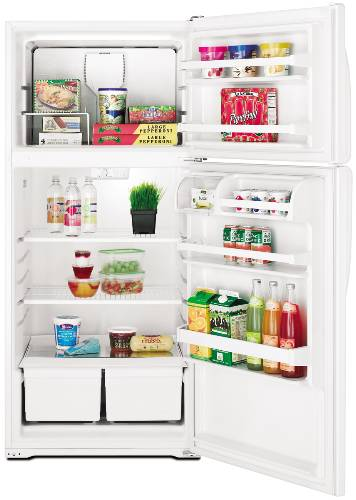 AMANA REFRIGERATOR TOP MOUNT 14.4 CU. FT. WHITE
