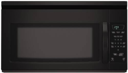 AMANA OVER-THE-RANGE MICROWAVE 1.5 CU. FT. BLACK