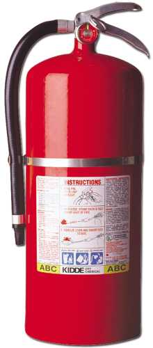 Fire Extinguisher 20lb 20A:120B:C with bracket