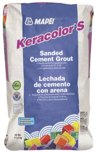 SANDED GROUT LIGHT ALMOND 25LB