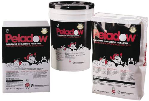 PELADOW PREMIER CALCIUM CHLORIDE SNOW AND ICE MELTER 50 LB.