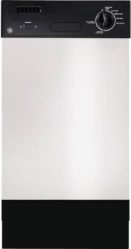 GE BUILT-IN DISHWASHER 18 IN. STAINLESS STEEL