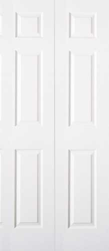 6 PANEL BIFOLD DOOR 18 IN. X 80 IN.