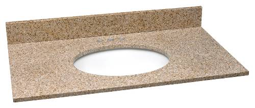 GRANITE TOP 31 IN. W X 22 IN. D GOLDEN SAND