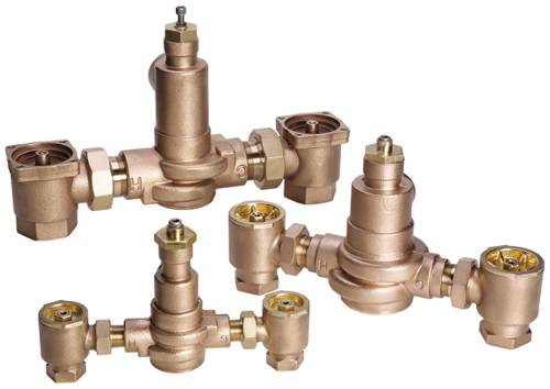 HYDROGUARD XP MASTER TEMPERING VALVE ROUGH BRONZE