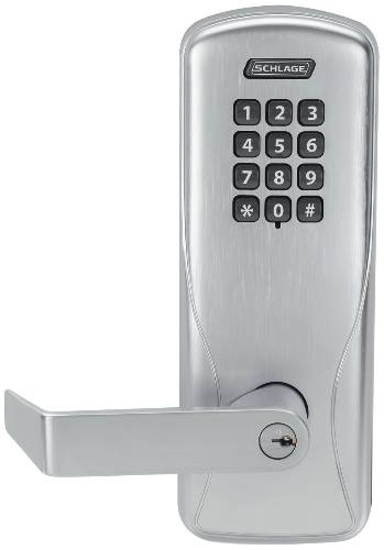 SCHLAGE ELECTRONICS CO100 SERIES CY50 KEYPAD CYLINDRICAL LOCK
