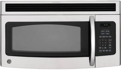GE 1.5 CU. FT. OVER-THE-RANGE MICROWAVE STAINLESS STEEL