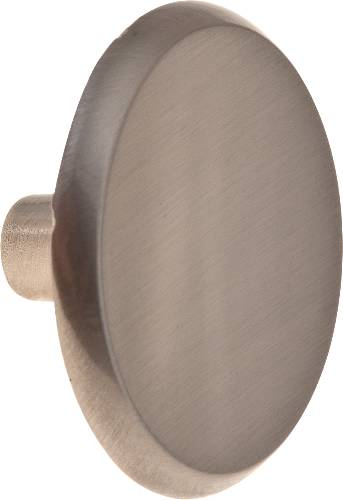 "CABINET KNOB 1-1/2"" SATIN NICKEL"
