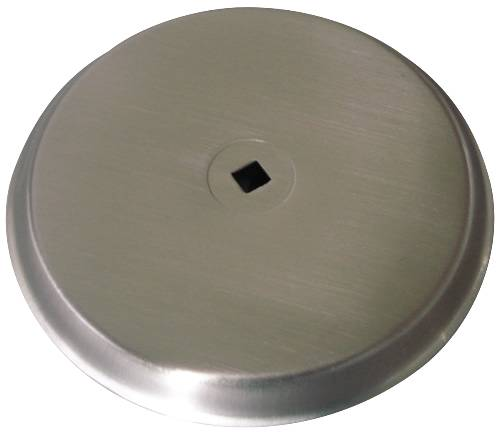 CABINET KNOB BACKPLATE SATIN NICKEL