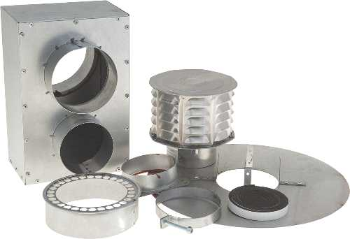 "BEACON MORRIS 4"" CONCENTRIC VENT KIT"