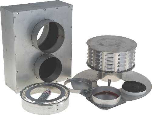 "BEACON MORRIS 5"" CONCENTRIC VENT KIT"