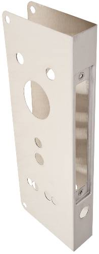 DON JO WRAP AROUND PLATE SCHLAGE CO MORTISE STAINLESS STEEL