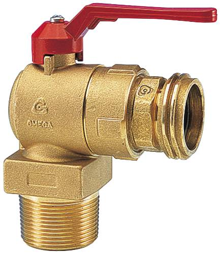 VALVE- SAFETY FILLER 90 DEGREE WITH AUTO&MANUAL SHUTOFF VALVE