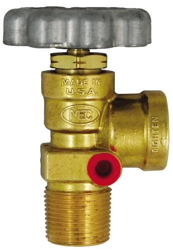 SERVICE VALVE WITHOUT DIPTUBE AND BLEEDER 100 LB. 3/4 IN. MNPT X