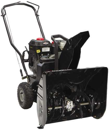 MURRAY DUAL STAGE SNOW THROWER 24 IN. CLEARING