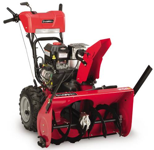 SNAPPER SNOW THROWER DUAL STAGE 27 IN. CLEARING