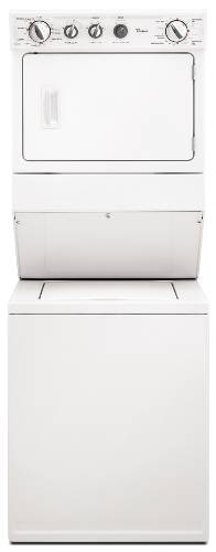 WHIRLPOOL COMBINATION WASHER / ELECTRIC DRYER WHITE