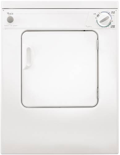 WHIRLPOOL COMPACT ELECTRIC DRYER 3.4 CU. FT. WHITE 120 VOLT