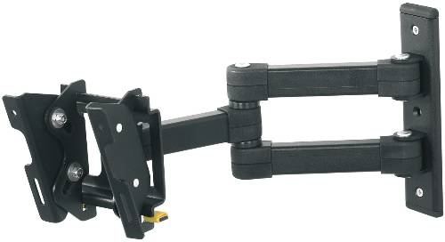 FLAT PANEL TV MOUNT MULTI POSITION DUAL ARM FOR 12-25 IN. SCREEN