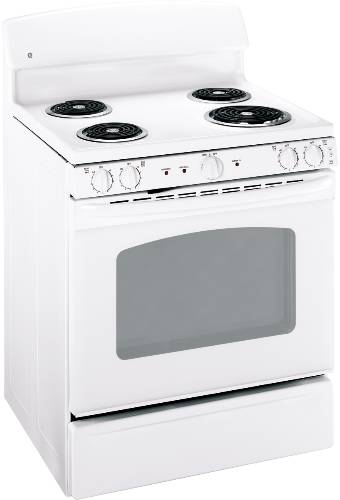 GE 30 IN. FREE-STANDING ELECTRIC RANGE ADA WHITE