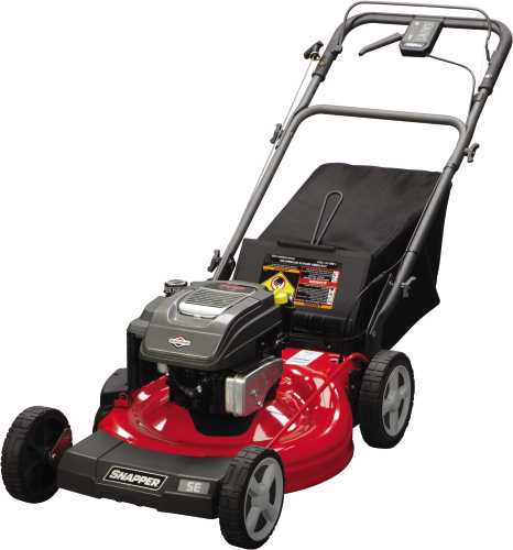 SNAPPER 22 IN. SELF-PROPELLED MOWER REAR WHEEL DRIVE