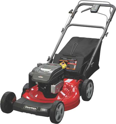 SNAPPER 22 IN. SELF-PROPELLED MOWER REAR WHEEL DRIVE WITH REACT