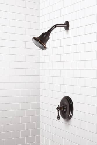 CHARLESTOWN SHOWER SET PARISIAN BRONZE FINISH