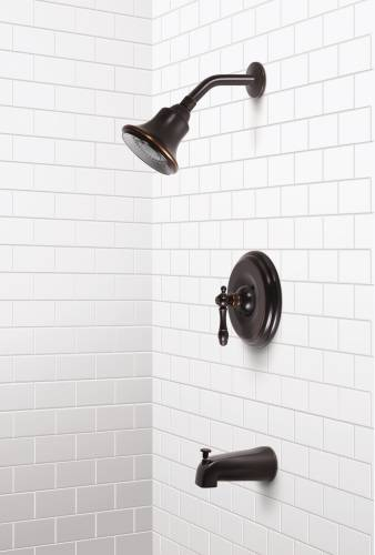 CHARLESTOWN TUB & SHOWER SET PARISIAN BRONZE FINISH