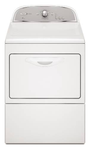 WHIRLPOOL CABRIO ELECTRIC DRYER 7.4 CU. FT. WHITE