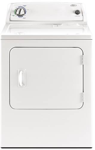 WHIRLPOOL ELECTRIC DRYER 6.0 CU. FT. WHITE