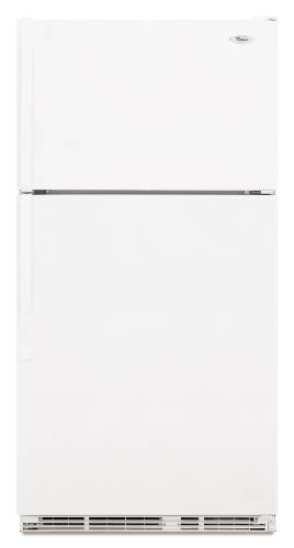 WHIRLPOOL 21 CU. FT. TOP-FREEZER REFRIGERATOR WITH CEE TIER 3 RA