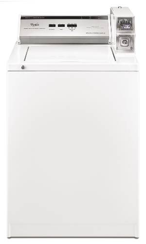 WHIRLPOOL COMMERCIAL WASHER X-LARGE CAPACITY 3.2 CU. FT. WHITE