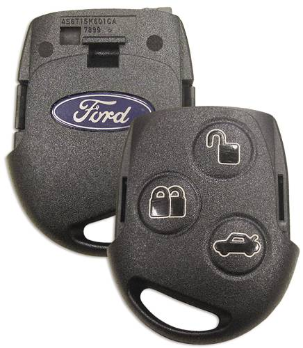 3 BUTTON FOB, FIESTA/TRANSIT