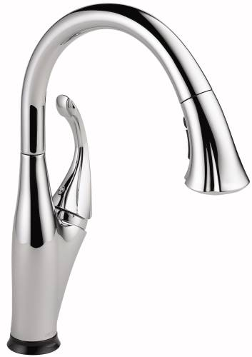 DELTA ADDISON SINGLE HANDLE PULL-DOWN KITCHEN FAUCET FEATURING T