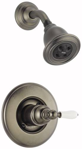 DELTA VICTORIAN MONITOR 14 SERIES SHOWER TRIM - LESS HANDLE, AGE