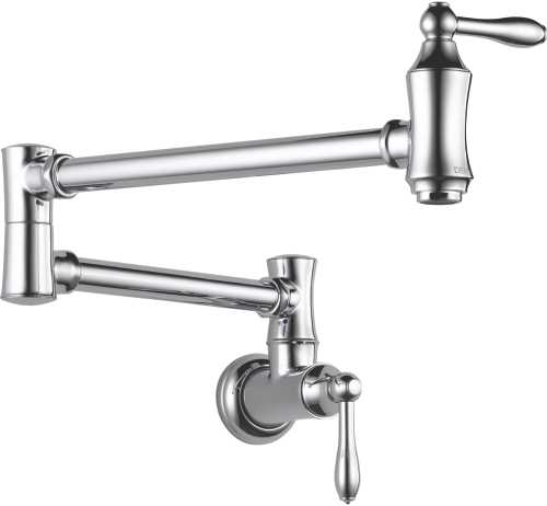DELTA POT FILLER - WALL MOUNT, CHROME