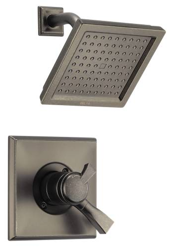 DELTA DRYDEN MONITOR 17 SERIES SHOWER TRIM, AGED PEWTER