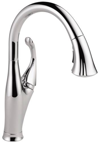 DELTA ADDISON SINGLE HANDLE PULL-DOWN KITCHEN FAUCET, CHROME